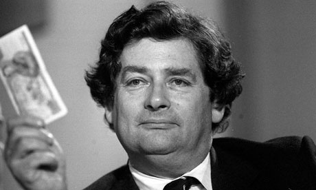 Nigel Lawson in 1985